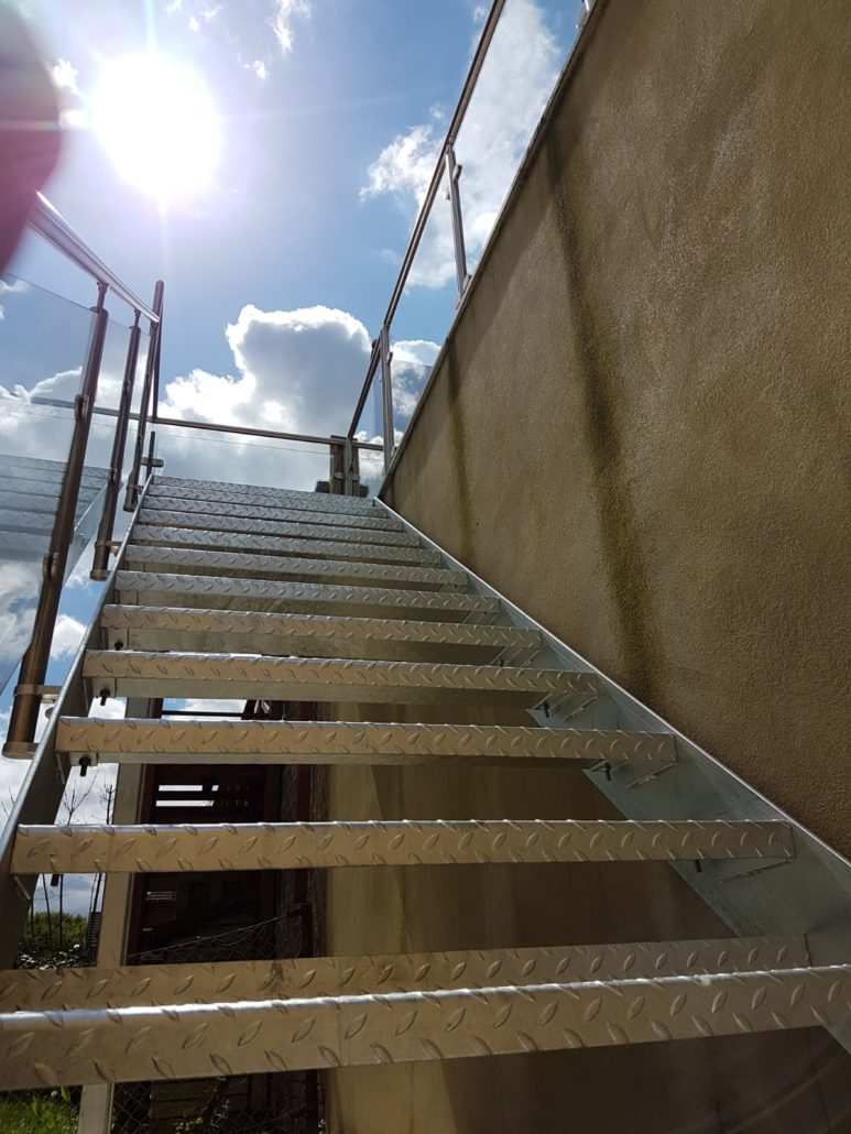 Enclosed Plate Stringer Staircase Brighton Stairs