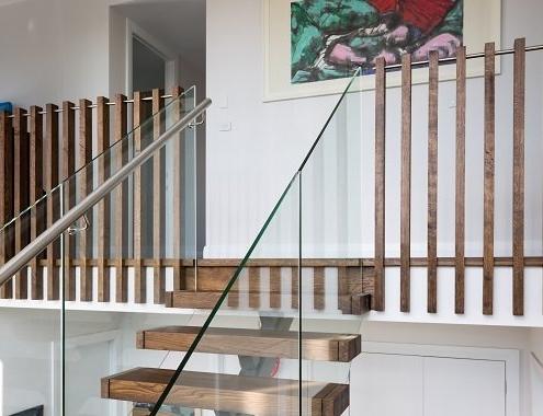 Single Stringer Staircase Detail