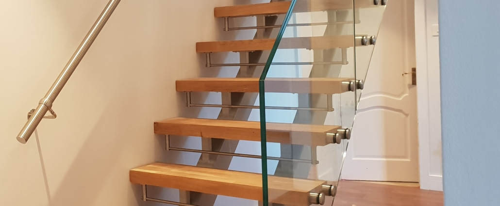 Duo Double Stringer Staircase Brighton Stairs Sussex