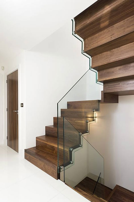 The Zig Zag Staircase Brighton Stairs Sussex Staircase Manufacturers