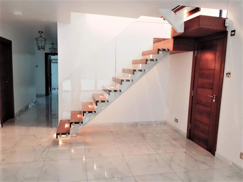 Mono Stringer Single Stringer Staircase Brighton